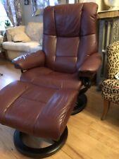 Ekornes Stressless Leather Recliner Chair Medium Sized