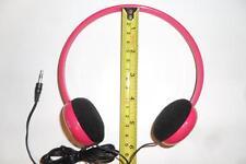 KIDS GIRLS GIRLY SMALL PADDED PINK HEADPHONES FOR VTECH INNOTAB 2 INNOTAB2 TAB