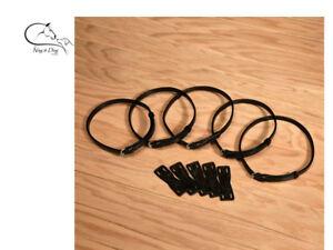 Replacement Flash Strap, Black, Brown English Leather Noseband Adaptor Converter