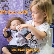 "18"" Reborn Baby Doll Handmade Soft Silicone Vinyl Sleeping Boy REal Live Gift"