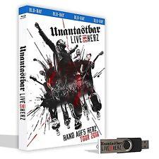 UNANTASTBAR Live ins Herz (LTD. Erstauflage inkl. USB-Stick) BLU-RAY 2017
