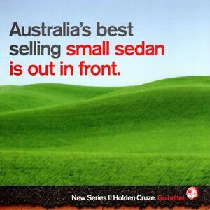 Holden Cruze Series II Fleet brochure