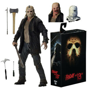 """NECA Friday the 13th 2009 Movie Jason Voorhees Ultimate 7"""" Action Figure NIB"""