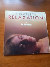 The Complete Relaxation Course. Dr. Alvin Ross. 2LP Edward judd