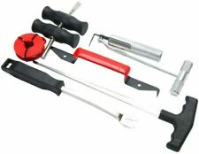 Pro 7pc Auto Windshield Wind Glass Trim Pad Removal Tool Kit Remover Free Ship
