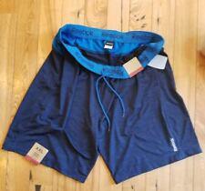 Nwt Men's Blue Reebok Stretchy Basketball Athletic Shorts Size Xxl 2Xl
