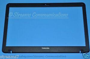 "TOSHIBA Satellite C655D-S5304 15.6"" Laptop LCD Front Bezel TRIM w/ Camera Port"