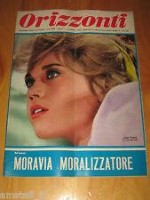 ORIZZONTI=1966/7=JANE FONDA CAT BALLOU COVER MAGAZINE COPERTINA=