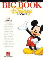Big Book of Disney Songs 72 Titel Noten für Tenor-Saxofon Tenor Sax Saxophone