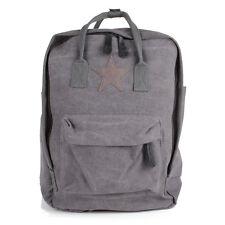 62701fe55af62 Stern Reise Schul Rucksack Shopper Tasche Canvas Jeans Stoff Schulter  Backpack