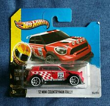 Hot Wheels '12 Mini Countryman Rally Rot