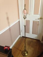 "T. L. Lrevost Brass Antique Modern - Floor LAMP/ 54"" H. Shade 16 W"