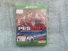 Pro Evolution Soccer 2017 (Microsoft Xbox One, 2016) Brand New Factory Sealed