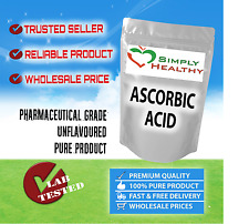 SIMPLY HEALTHY ASCORBIC ACID 1kg PURE VITAMIN C BEST AVAILABLE QUALITY