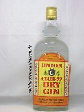 Union Club 99 Dry Gin Extra Trocken ca. 30 Jahre alt 0,7L. 40%