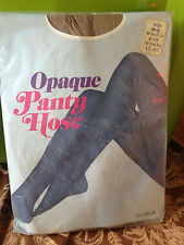 Exciting! Vintage Opague beige nude pantyhose w/ model one size