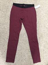 JUNE & DAISY womens Treggings AMSTERDAM RED trousers + leggings SMALL 6-8