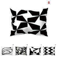 Pillow Cover Case 30x50cm Home Decoration Durable for Sofa Bedroom Car Coffee