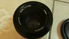 Minolta Maxxum 50mm f/1.7 AF Lens with Cap for Sony Alpha