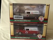 Texaco 2019 #36 1957 Ford Courier Delivery Truck Regular & Special Edition Set