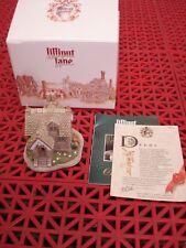 "Lilliput Lane #691 ""Elm Cottage"" 1994 w/Deed and Box Hand Signed David Tate Mbe"