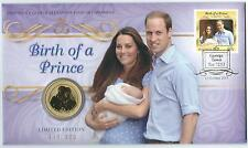 2013 UNC $1 BIRTH OF A PRINCE GEORGE OVERPRINT OVER PRINT PNC