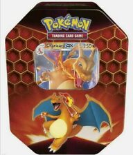 Pokemon TCG: Hidden Fates Tin - Charizard GX :: Brand New And Sealed!
