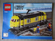 Lego City Eisenbahn E - Lok ( gelb ) 7939 / 7938 / 60098 / 60052 / 9V