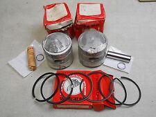 Honda NOS CB77, CL77, Piston, Rings, Pins, Clips SET, STD, # 13101-275-020   e5