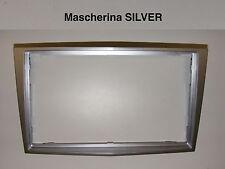 Mascherina autoradio Doppio 2 Din OPEL H Astra Corsa Zafira 2005 > colore SILVER