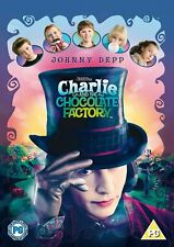 Charlie and The Chocolate Factory DVD 2005 Region 2