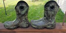 Herman Survivors Men's Rubber Boots Hunting Waterproof  Camo Sz 8