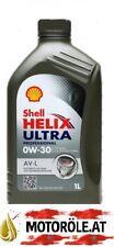 1l Shell Helix Ultra Professional AV-L 0W-30 Motoröl 1 Liter VW 504.00 507.00