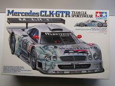"Tamiya 1:24 Scale Mercedes CLK-GTR ""Team CLK Sportswear"" Model Kit - New # 24201"