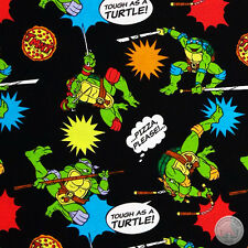 140127234 - New Teenage Mutant Ninja Turtles Pizza Toss TMNT Fabric by the Yard