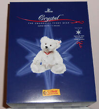 Steiff Collectible Crystal The Swarovski Teddy Bear - Brand New White Ear Tag