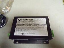 Optelecom Single Model Dual Fiber Optic Drop/Insert RS232/422/485 9525AY/SM-FC