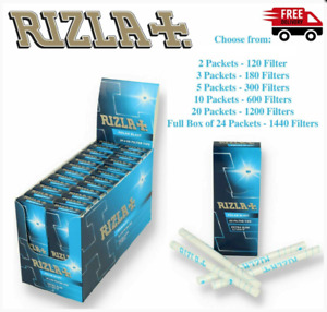 NEW Rizla Polar Blast Menthol Extra Slim 5.7mm Filter Tips Pop