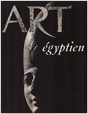 DRIOTON Etienne - L'ART EGYPTIEN - 1955