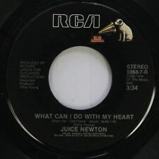 Pop 45 Juice Newton - What Can I Do With My Heart / Let Your Woman Take Care Of