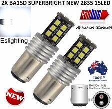2X LED BA15D 1142 2835 STOP REVERSE LIGHT LAMP BULB DC 12V CARAVAN BOAT SHIP 1