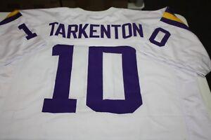 FRAN TARKENTON #10 QB SEWN STITCHED ROAD AWAY JERSEY SIZE XXL NFC CHAMPION