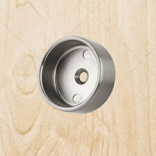 "Close Closet Bracket for Round 1-5/16"" Closet Rod chml345 Satin Nickel 5mm"