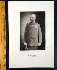 WILLIAM HENRY LEMON Andover, Massachusetts MA Steel Engraving Portrait 1916
