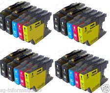 20 CARTUCCE PER BROTHER XL LC1240 LC1280 XL MFC-J6510DW MFC-J6710DW MFC-J6910DW
