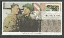 # 2981-d Wwii:1945 Road To Victory, 1995 Mystic First Day Cover