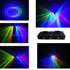 New Quad RGYB 800mW DJ laser Light Disco Club Stage DMX Laser Lighting