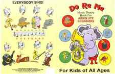 Only E-Book DO RE ME Music Theory  for Kids (E-Book)