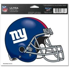 New York Giants 5x6 NFL Color Ultra Cling Decal Sticker