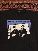 Vintage 70s 80s The Blues Brothers T Shirt Vintage Rare Black